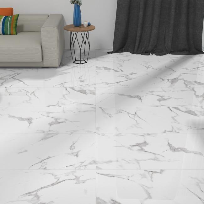 Piastrella Casablanca 60.8 x 60.8 cm sp. 9.5 mm PEI 3/5 bianco - 1