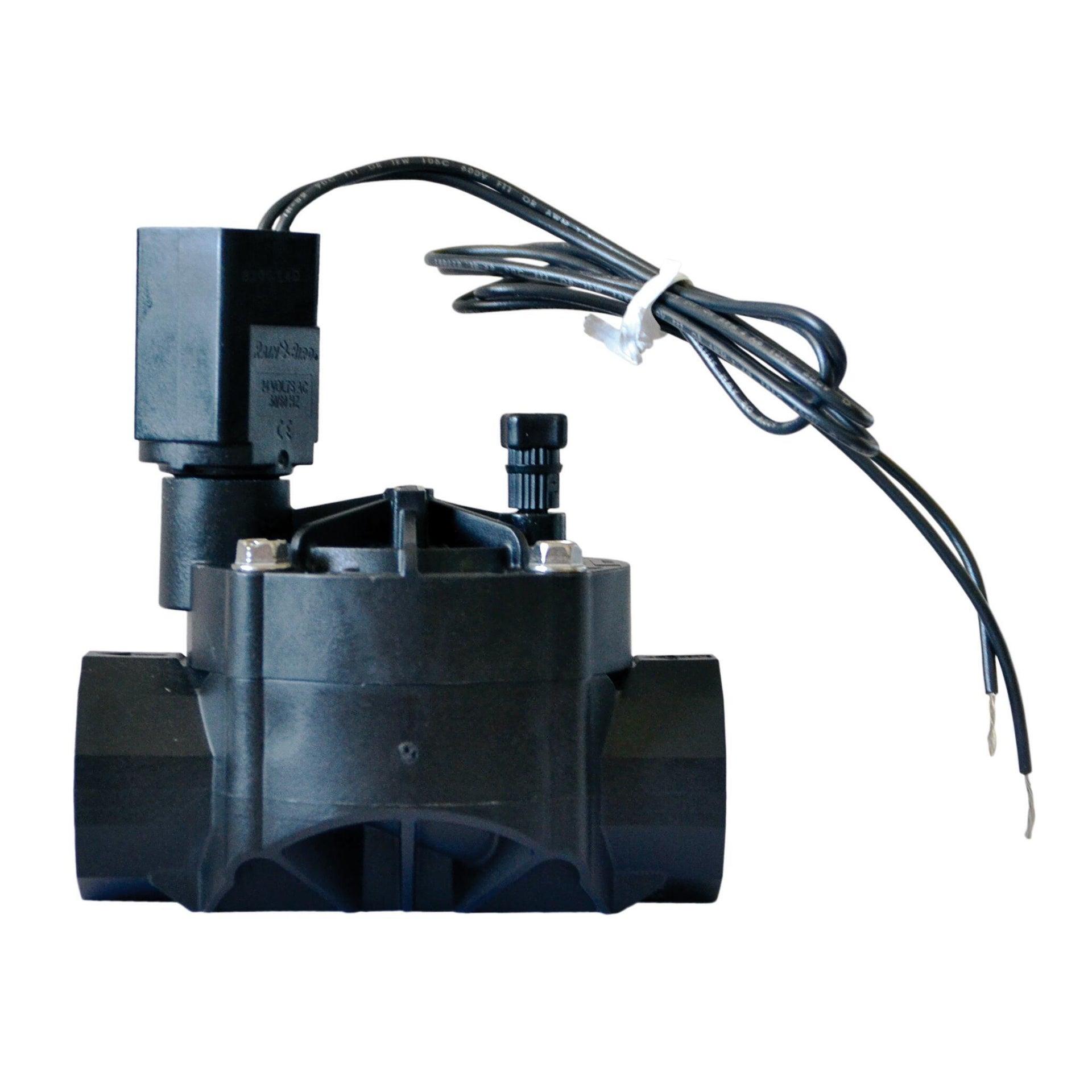 Elettrovalvola con regolatore di flusso RAIN BIRD 100 HV FF 24 V - 3