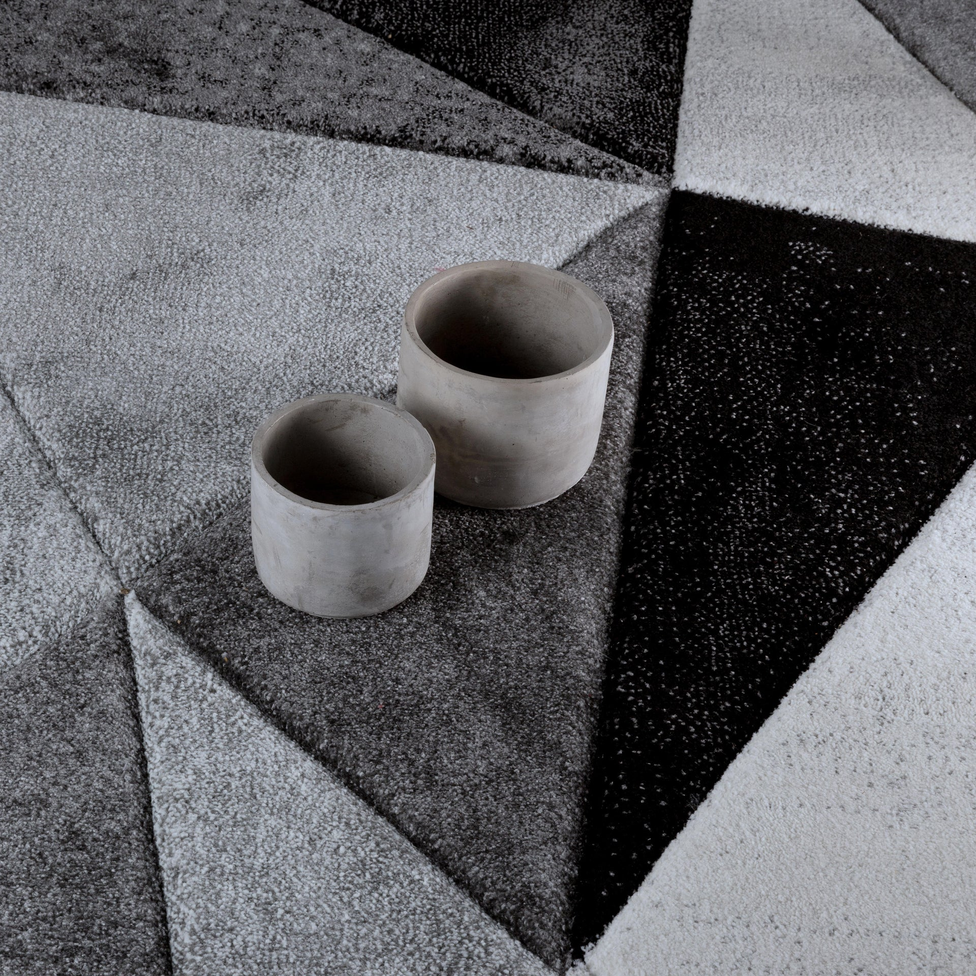Tappeto Opera Diamanti classic , bianco, 160x220 - 2