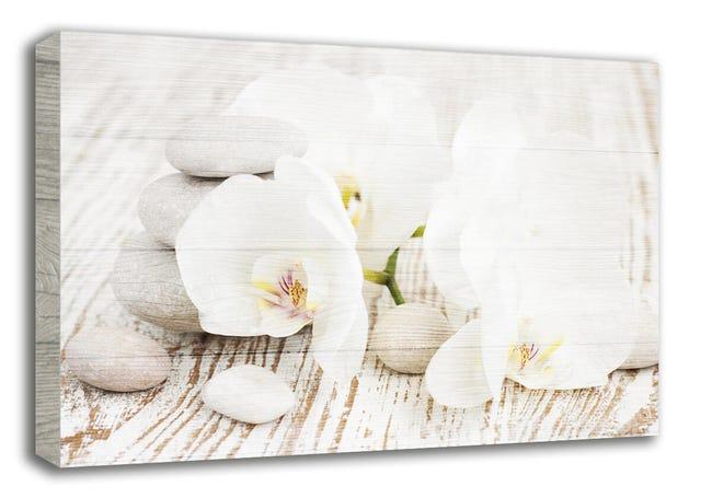 Quadro in legno Orchids 24x35 cm - 1