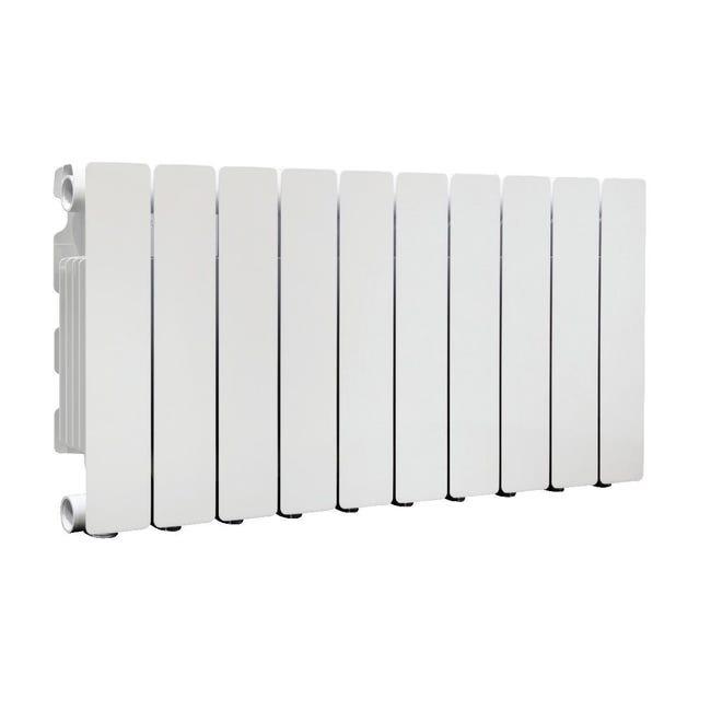 Radiatore acqua calda PRODIGE Modern in alluminio 10 elementi interasse 35 cm - 1