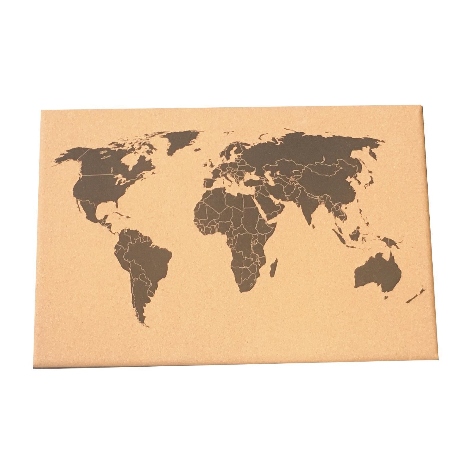 Bacheca World multicolore 60x40 cm - 2