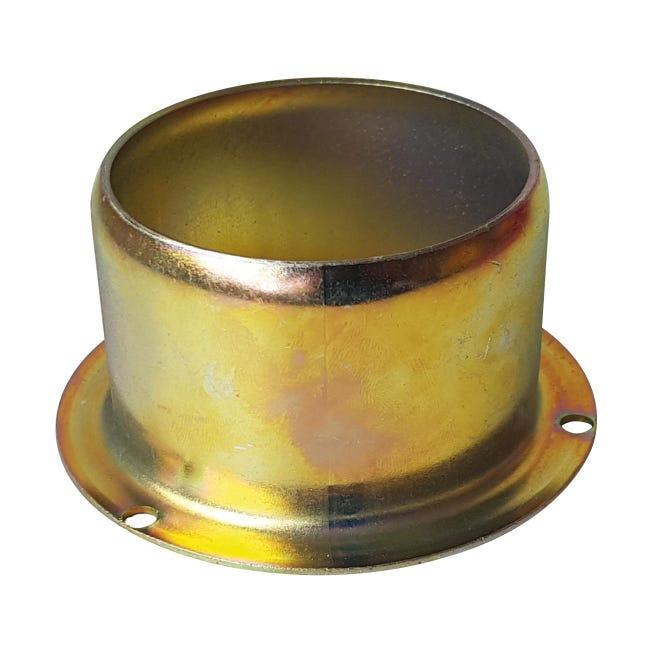 Adattatore in acciaio per stufa a pellet - 1