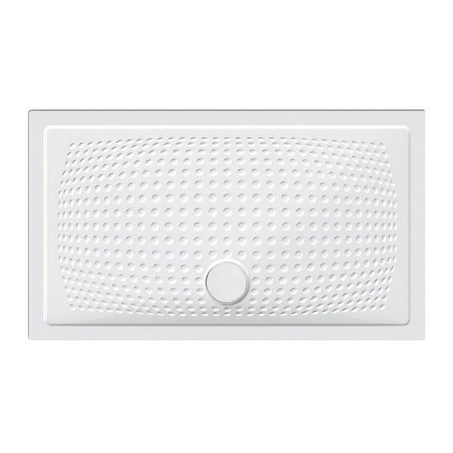 Piatto doccia ceramica Point 120 x 70 cm bianco - 1
