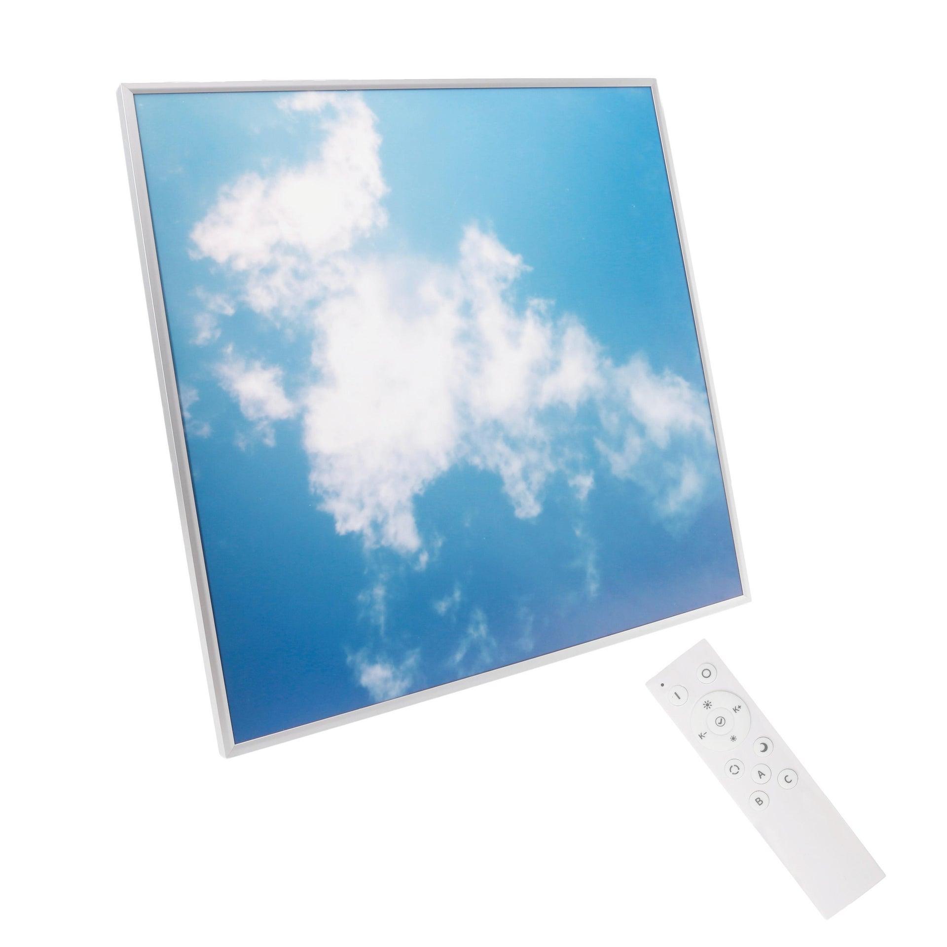 Pannello led Sky 60x60 cm cct regolazione da bianco caldo a bianco freddo, INSPIRE - 6