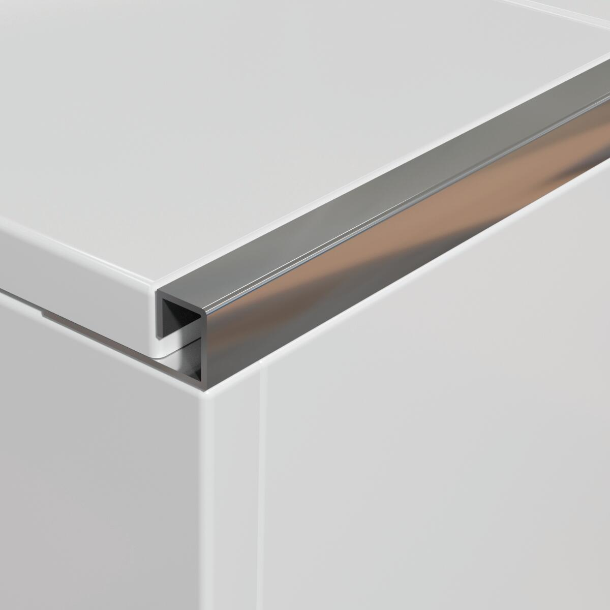 Profilo angolare interno inox 1 x 250 cm - 6