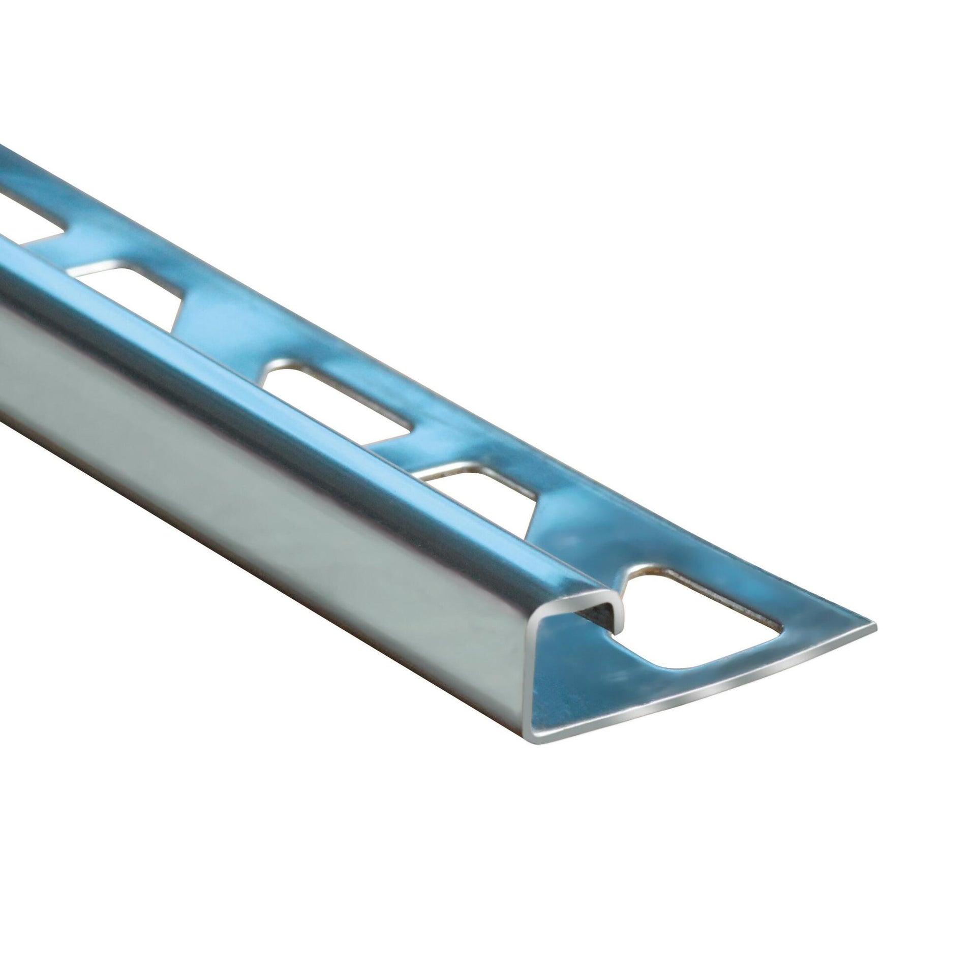 Profilo angolare interno inox 1 x 250 cm - 2