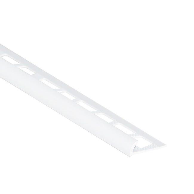 Profilo angolare interno in pvc Sp 25 mm L 250 cm bianco - 1