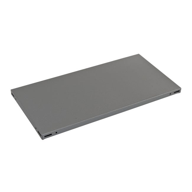 Ripiano L 70 x H 3 x P 40 cm grigio - 1