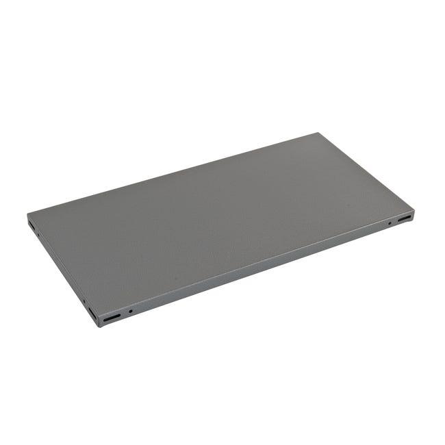 Ripiano L 80 x H 3 x P 30 cm grigio - 1