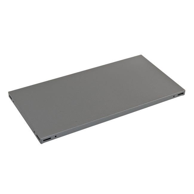 Ripiano L 80 x H 3 x P 40 cm grigio - 1