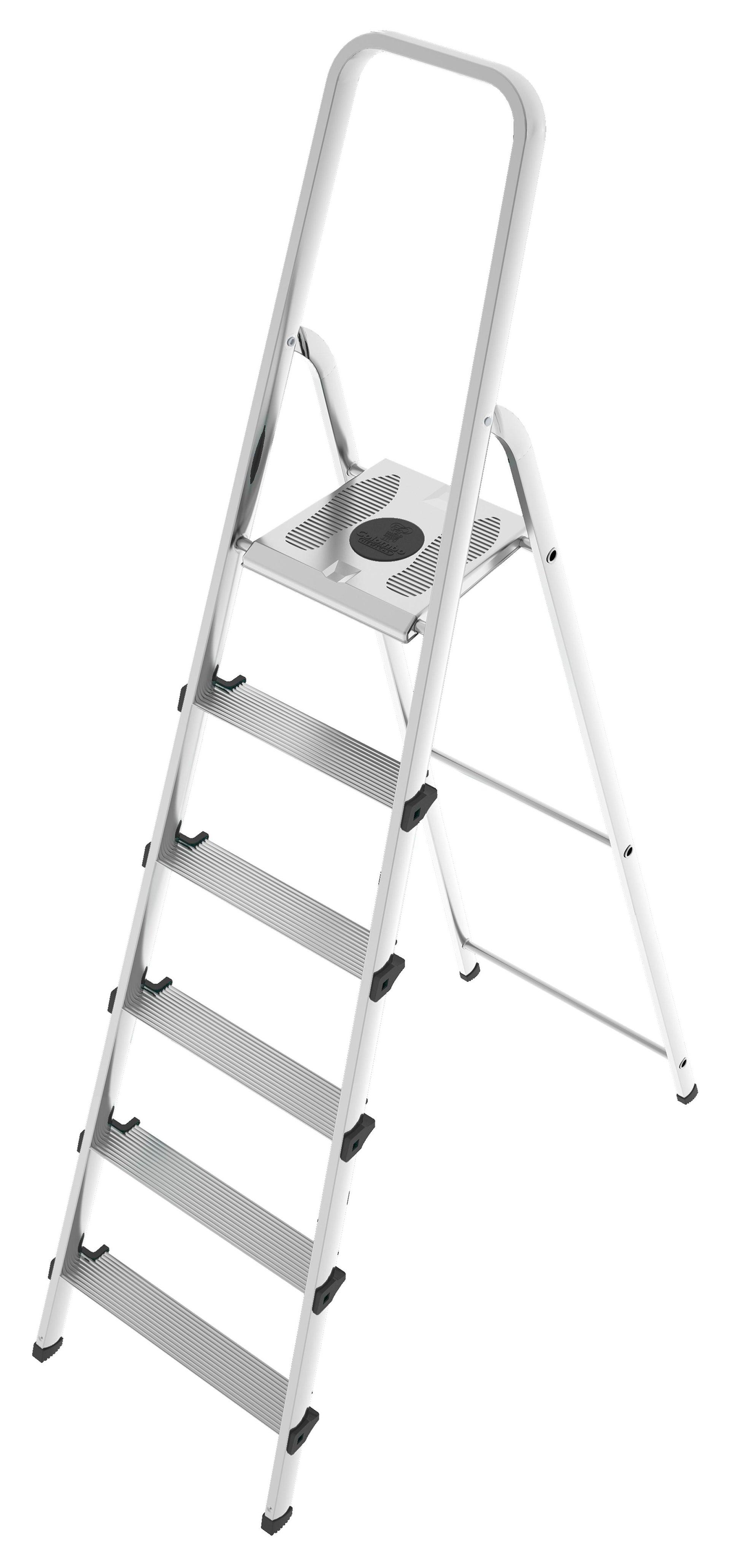 Scala COLOMBO Stark in alluminio/acciaio 6 gradini - 1