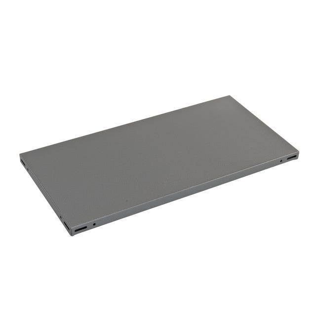 Ripiano L 100 x H 3 x P 50 cm grigio - 1