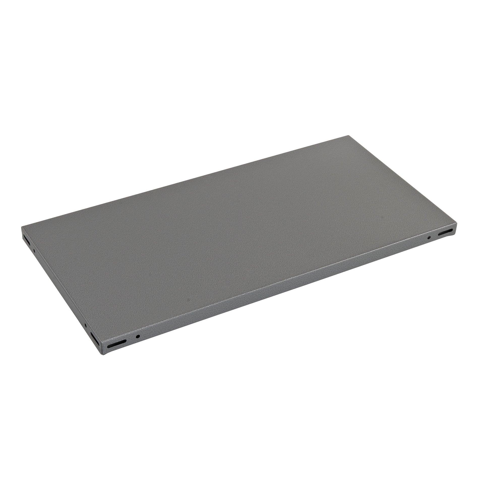 Ripiano L 100 x H 3 x P 60 cm grigio