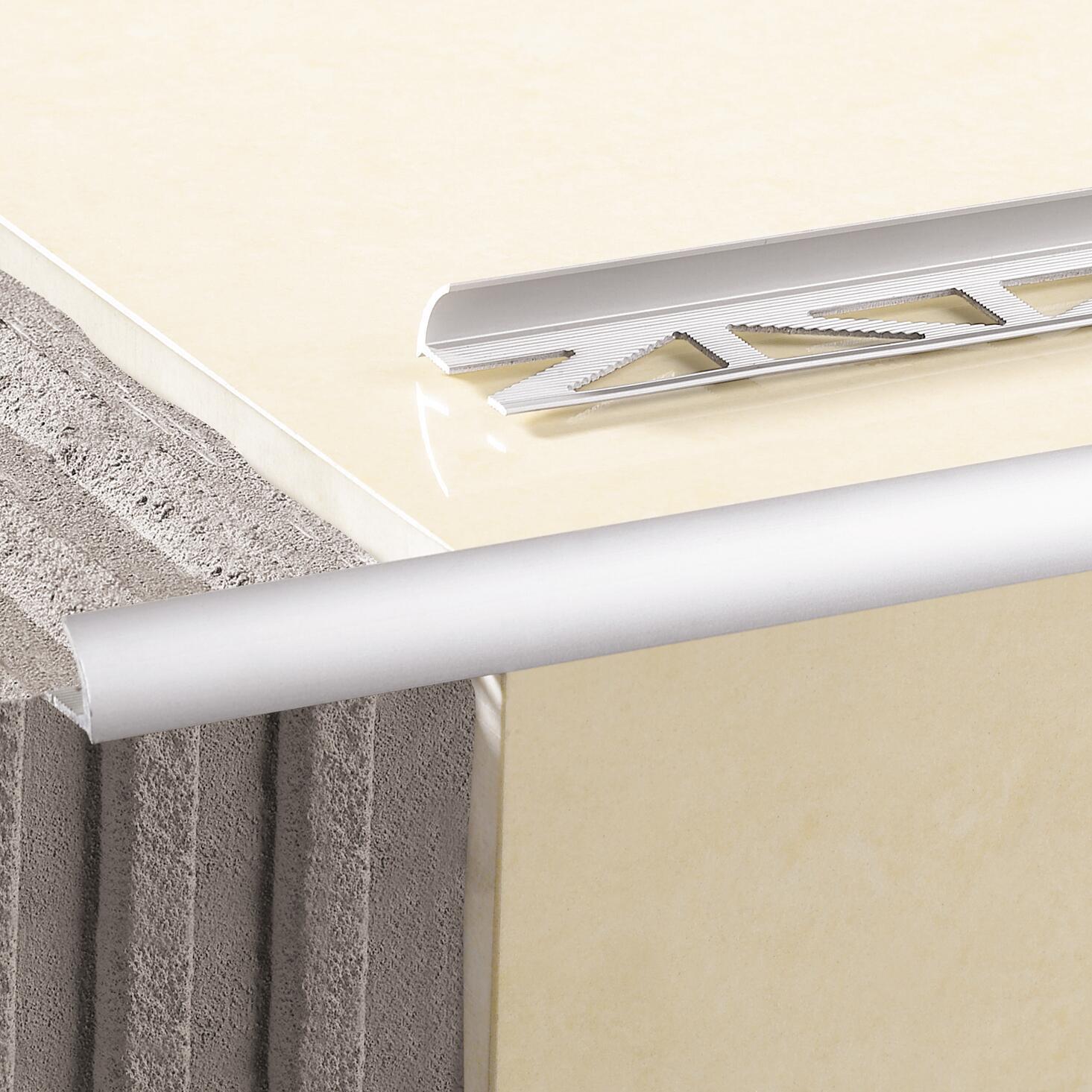 Profilo angolare interno alluminio anodizzato 0.8 x 250 cm - 3