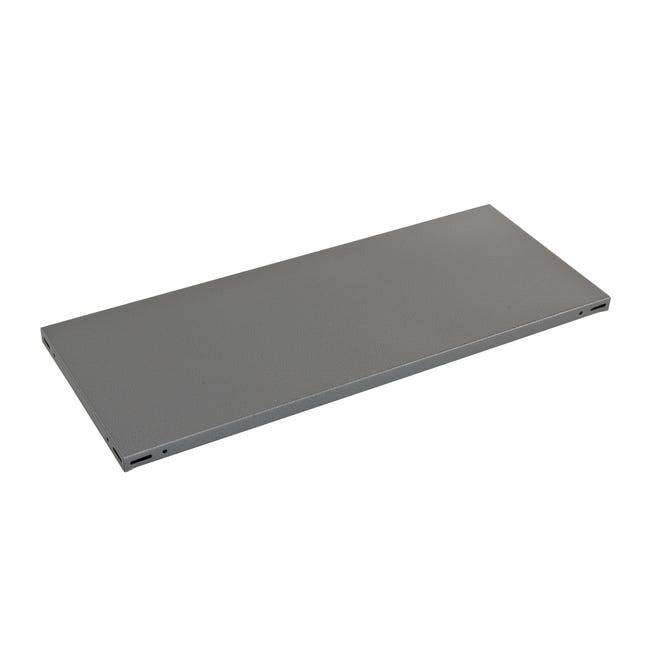 Ripiano L 150 x H 3 x P 50 cm grigio - 1