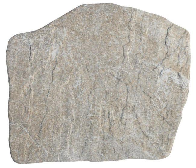 Traversa in pietra naturale beige L 42 x H 2 cm - 1
