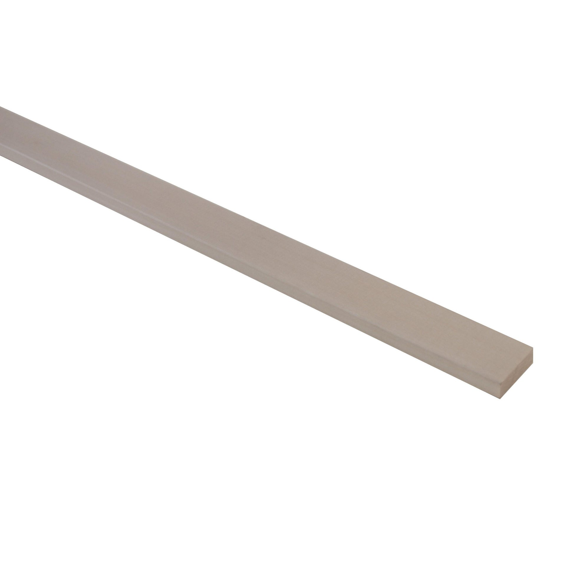 Listello piallato ayous 1 m x 20 mm, Sp 10 mm