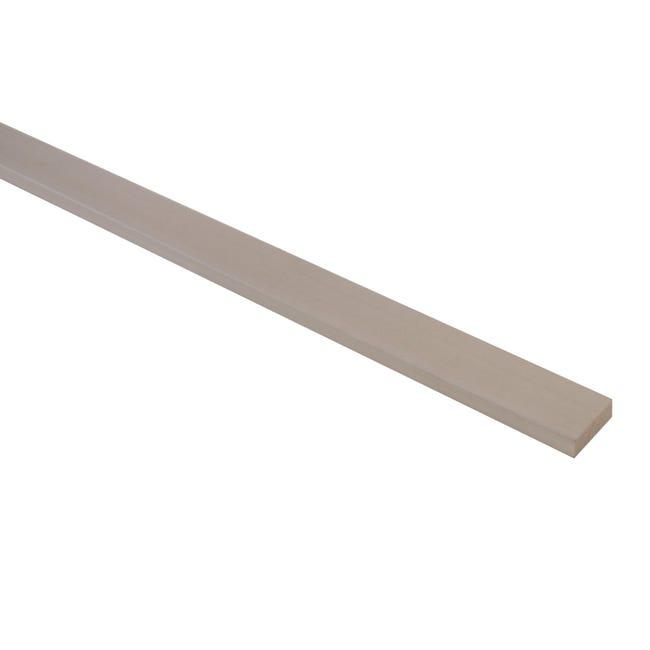Listello piallato ayous 1 m x 20 mm, Sp 10 mm - 1
