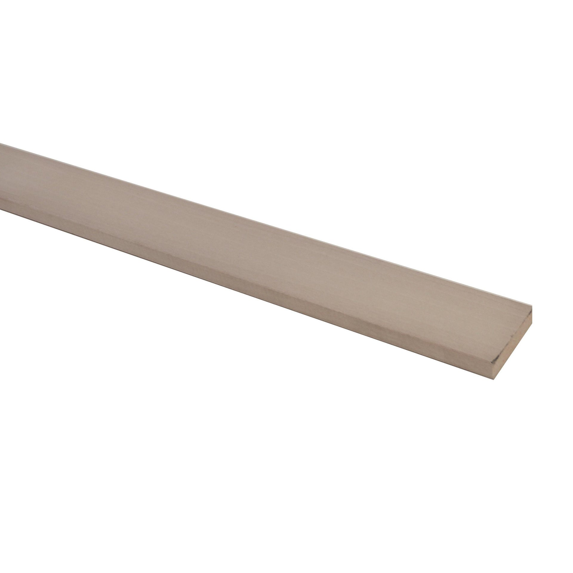 Listello piallato ayous 1 m x 30 mm, Sp 10 mm