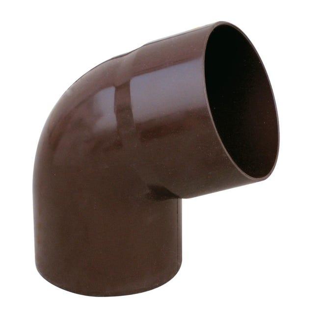 Curva pluviale in plastica Ø 63 mm - 1