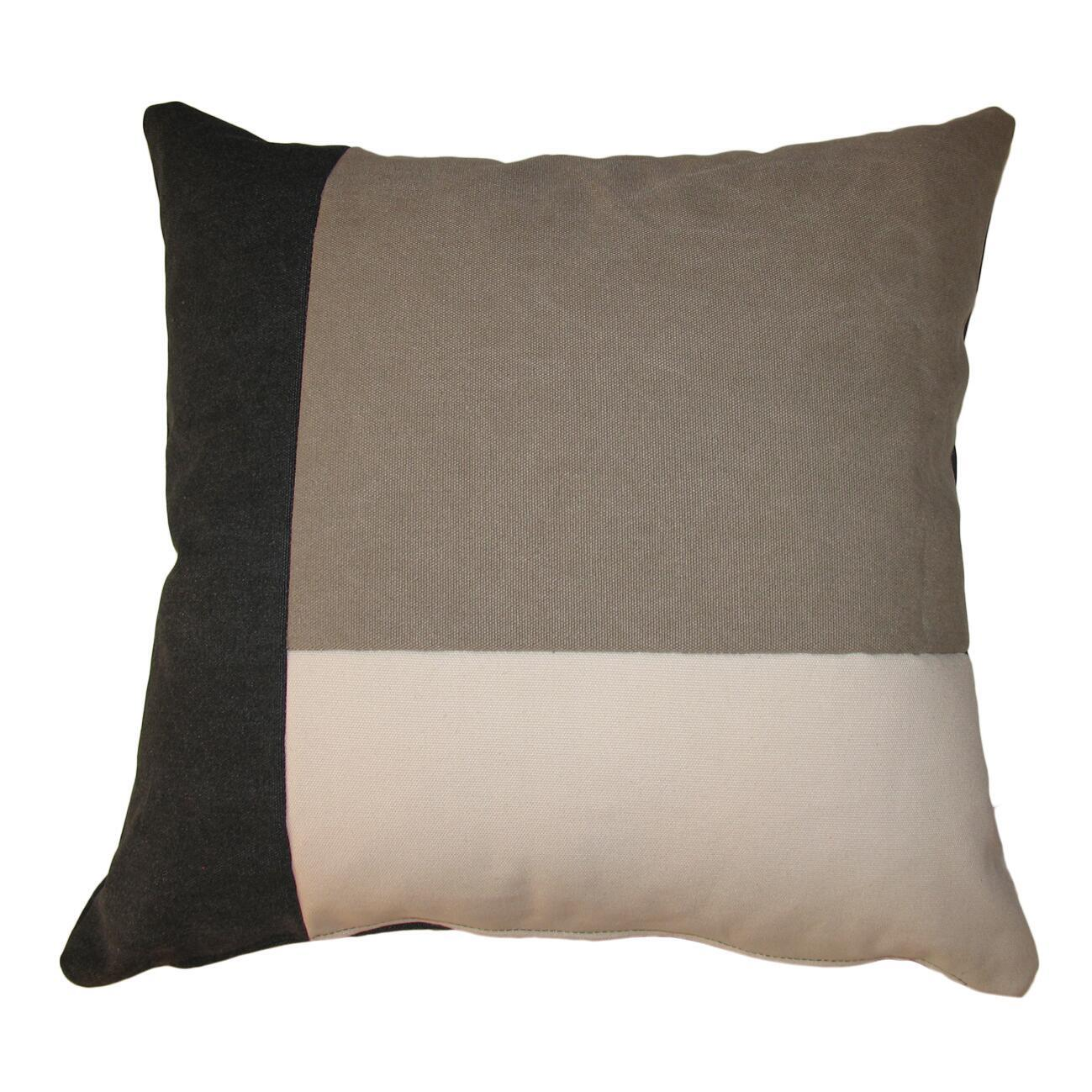 Cuscino Patch grigio 50x50 cm - 5