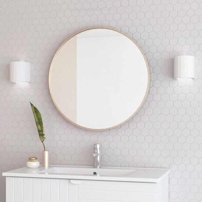 Specchio Non Luminoso Bagno Tondo Kende L 60 X H 60 Cm O 60 Cm Randal Leroy Merlin