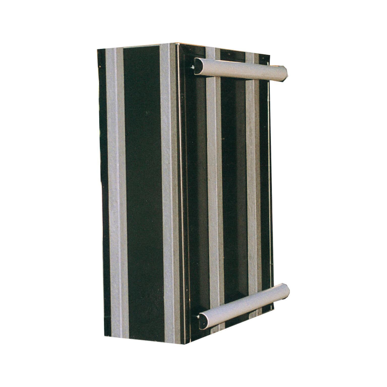 Kit di fissaggio Traversini in alluminio L 26 x H 2 cm - 2