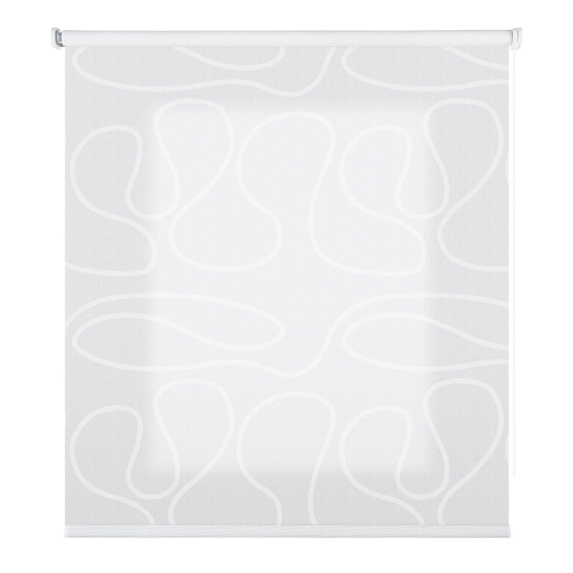 Tenda a rullo filtrante Duna bianco 45 x 250 cm - 3