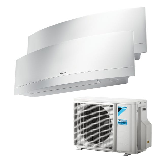 Climatizzatore dualsplit DAIKIN Emura 12000 BTU classe A+++ - 1