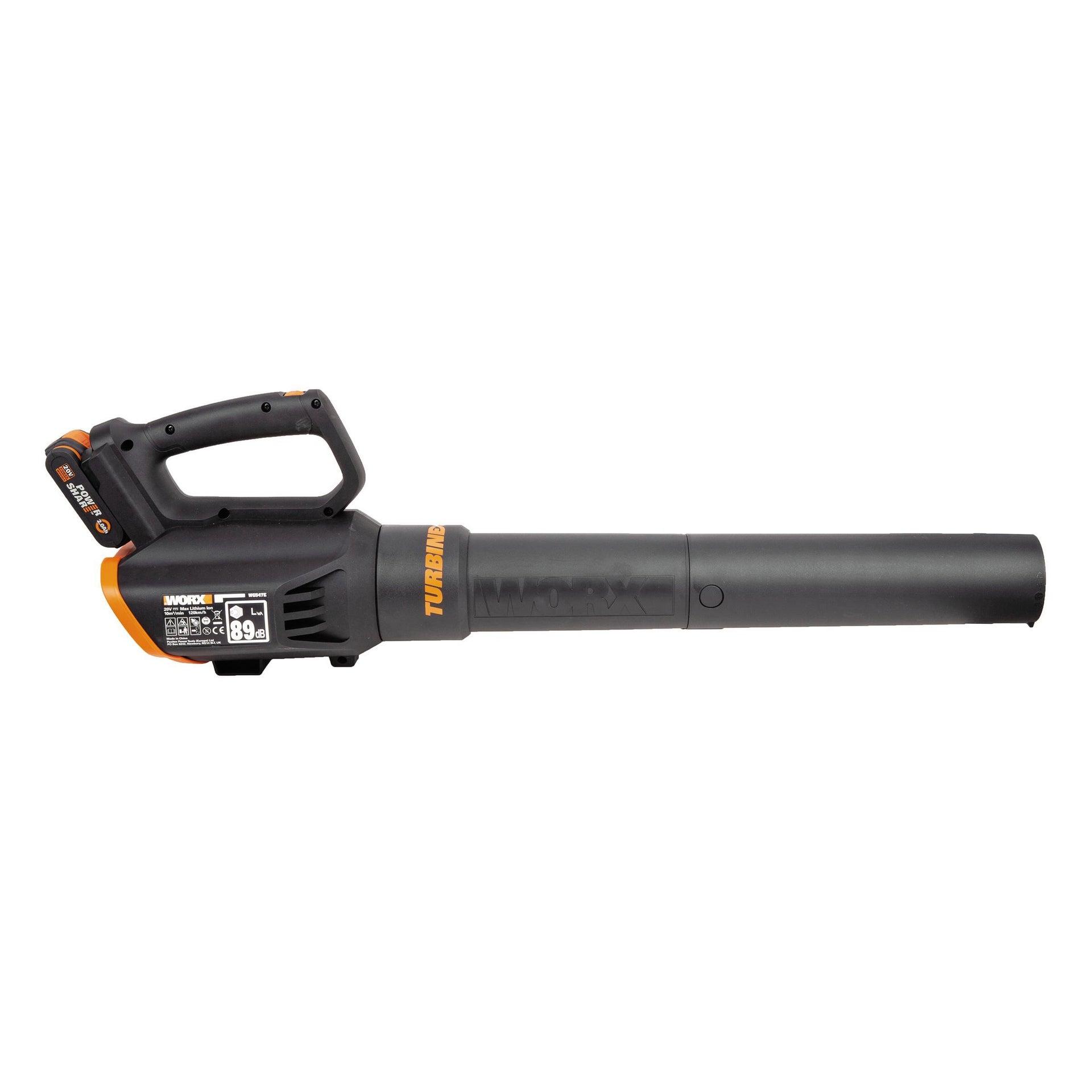 Soffiatore a batteria WORX WG547E, 20 V - 4