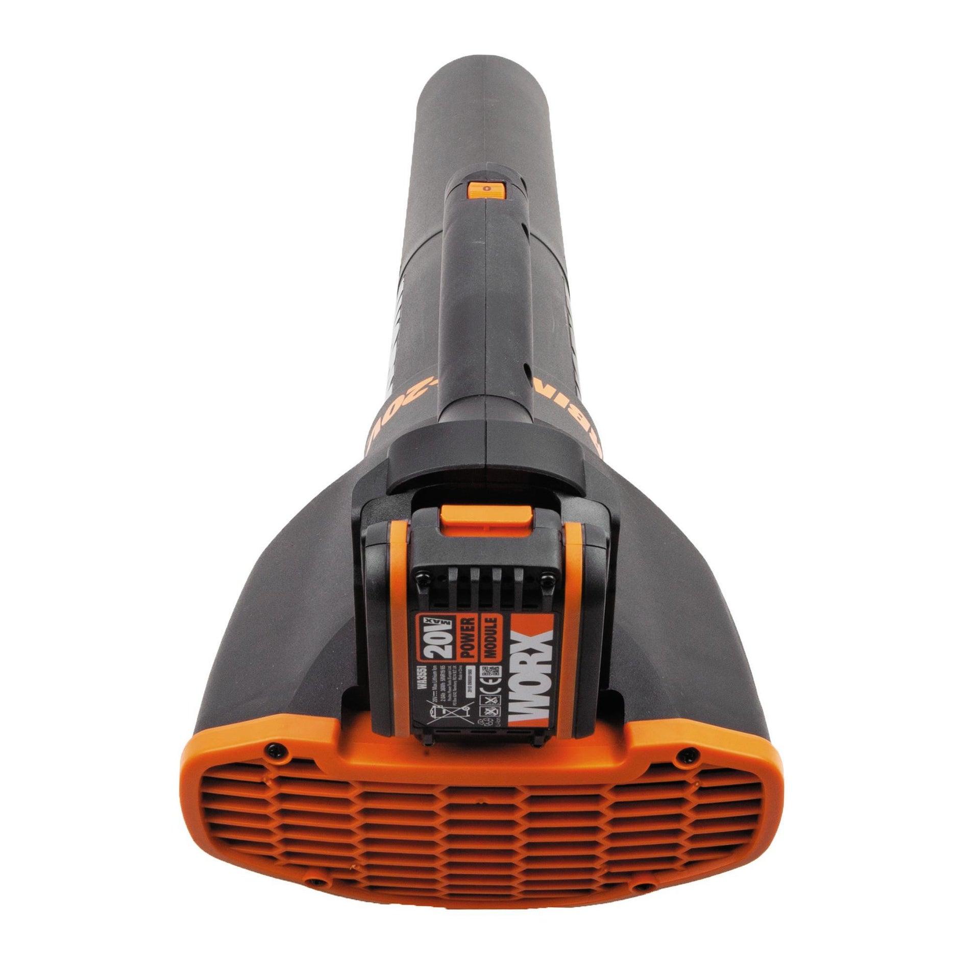 Soffiatore a batteria WORX WG547E, 20 V - 2