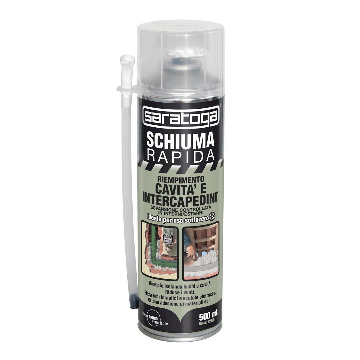 Schiuma poliuretanica grigio 0,5 ml - 2