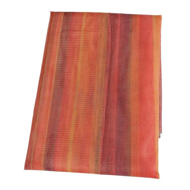 Tenda zanzariera ad anelli L 150 x H 170 cm arancione - 1