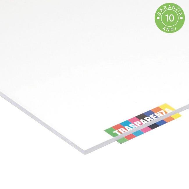 Vetro acrilico san trasparente 21 cm x 29.7 cm, Sp 5 mm - 1