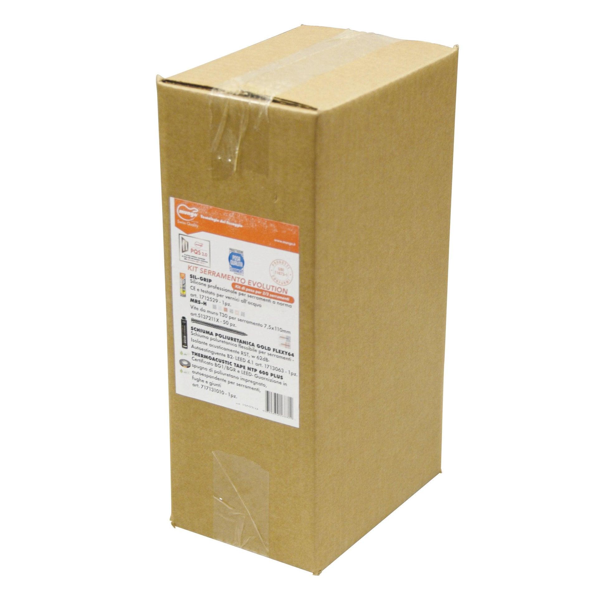 Silicone Kit serramenti bianco 500 ml - 2
