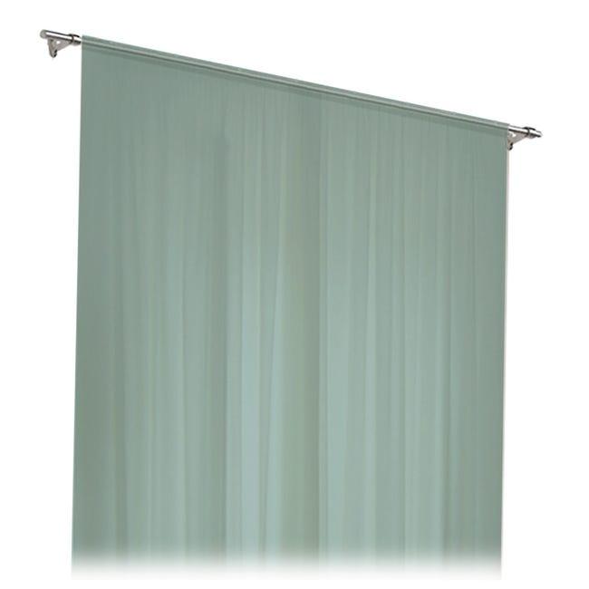 Tenda zanzariera ad anelli L 150 x H 170 cm verde - 1