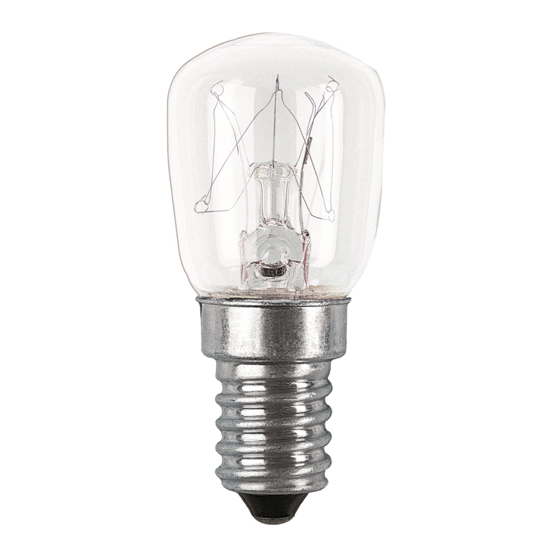 Set di 2 lampadine Alogena, E14, Bulbo, Trasparente, Luce calda, 10W=30LM (equiv 10 W), 360° , OSRAM - 1