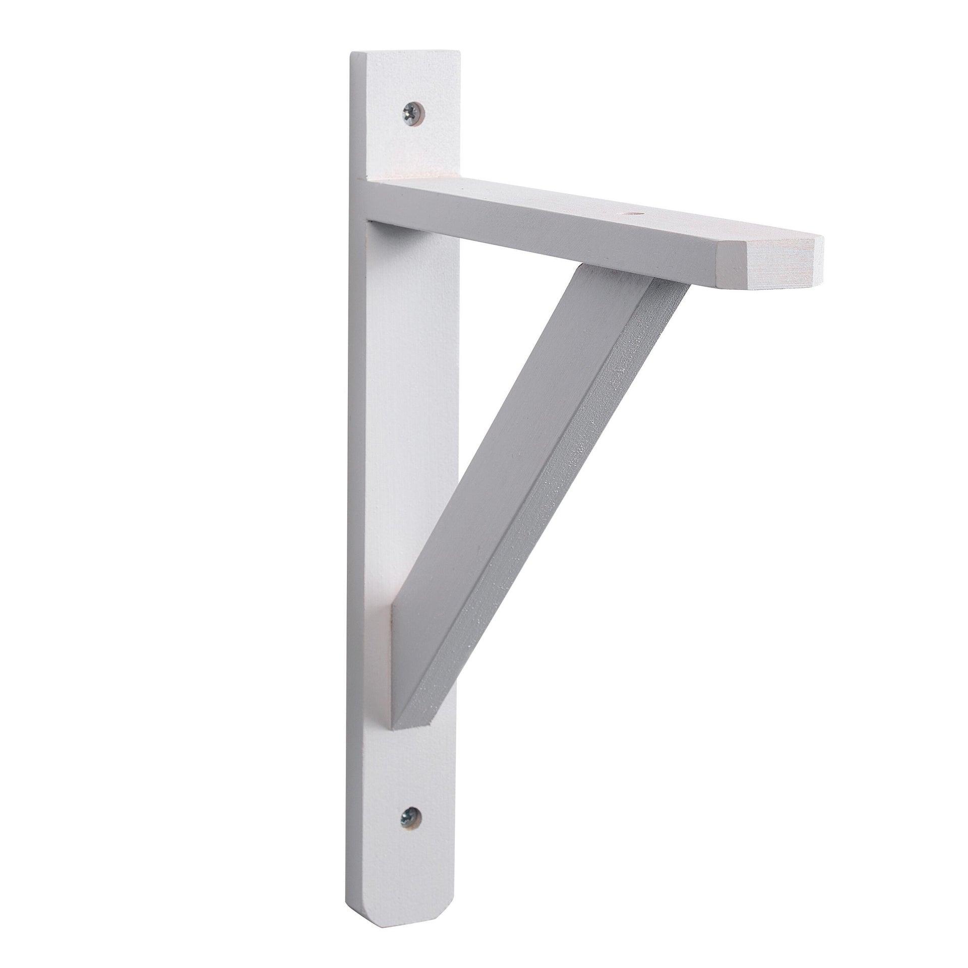 Staffa Squadra L 23 x H 28 cm bianco