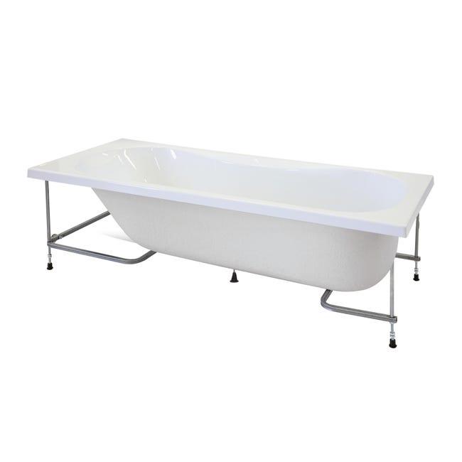 Vasca E Telaio Egeria 170 X 70 Cm Bianco 030 Leroy Merlin