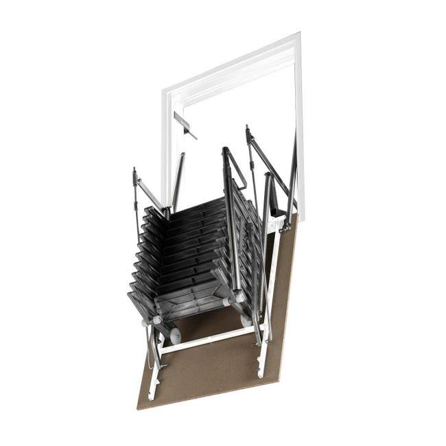 Scala retrattile Aci Alluminio 70 x 120 cm - 1