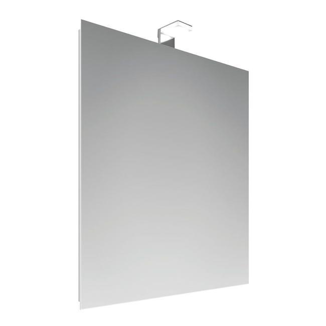 Specchio Con Illuminazione Integrata Bagno Rettangolare Entry L 70 X H 50 Cm Leroy Merlin
