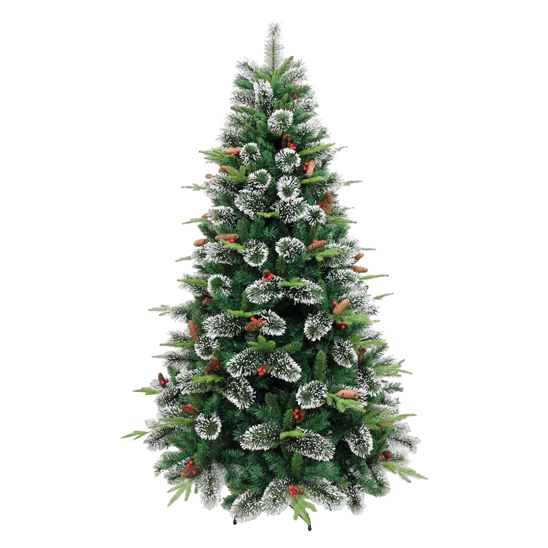 Albero di natale artificiale Coritna verde H 180 cm, - 1