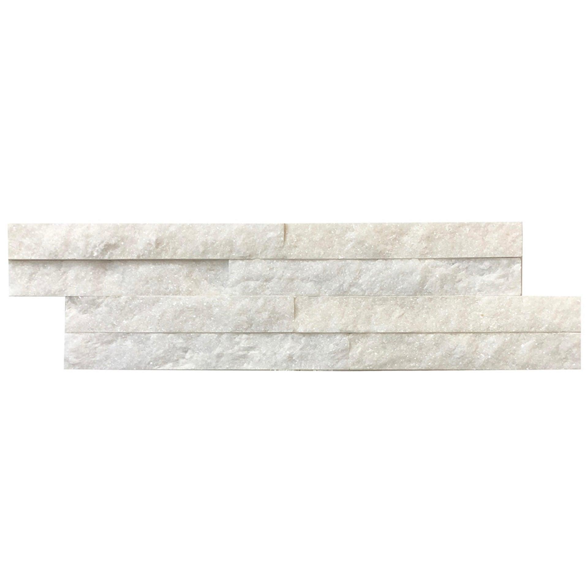 Rivestimento strutturato in pietra naturale Jimara L 36 x L 10 cm, Sp 12 mm interno / esterno - 3
