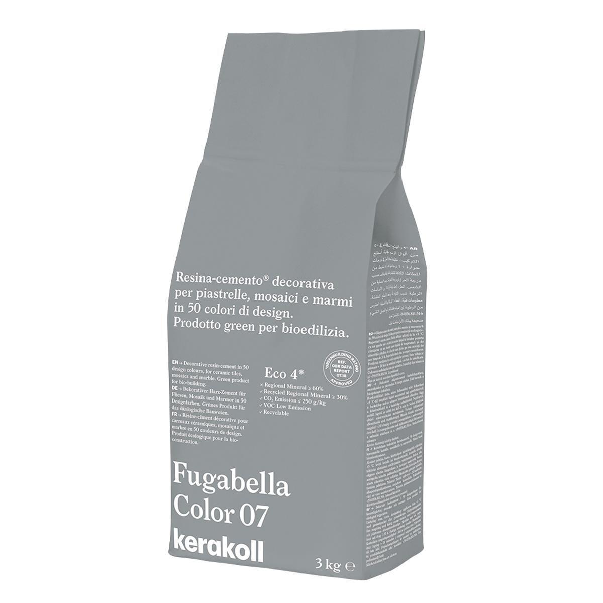 Stucco in polvere Universale KERAKOLL 3 kg grigio chiaro - 2