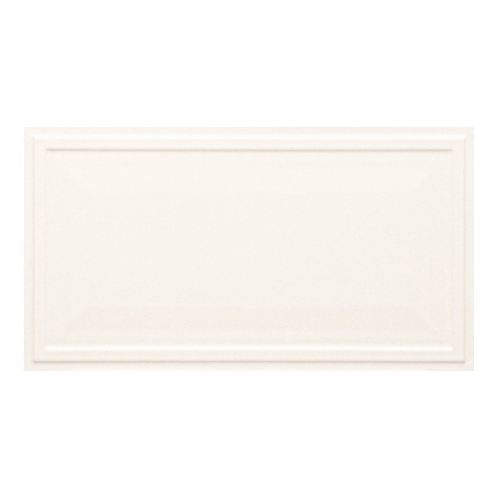 Piastrella per rivestimenti New Classic 30 x 56 cm sp. 10 mm bianco - 8