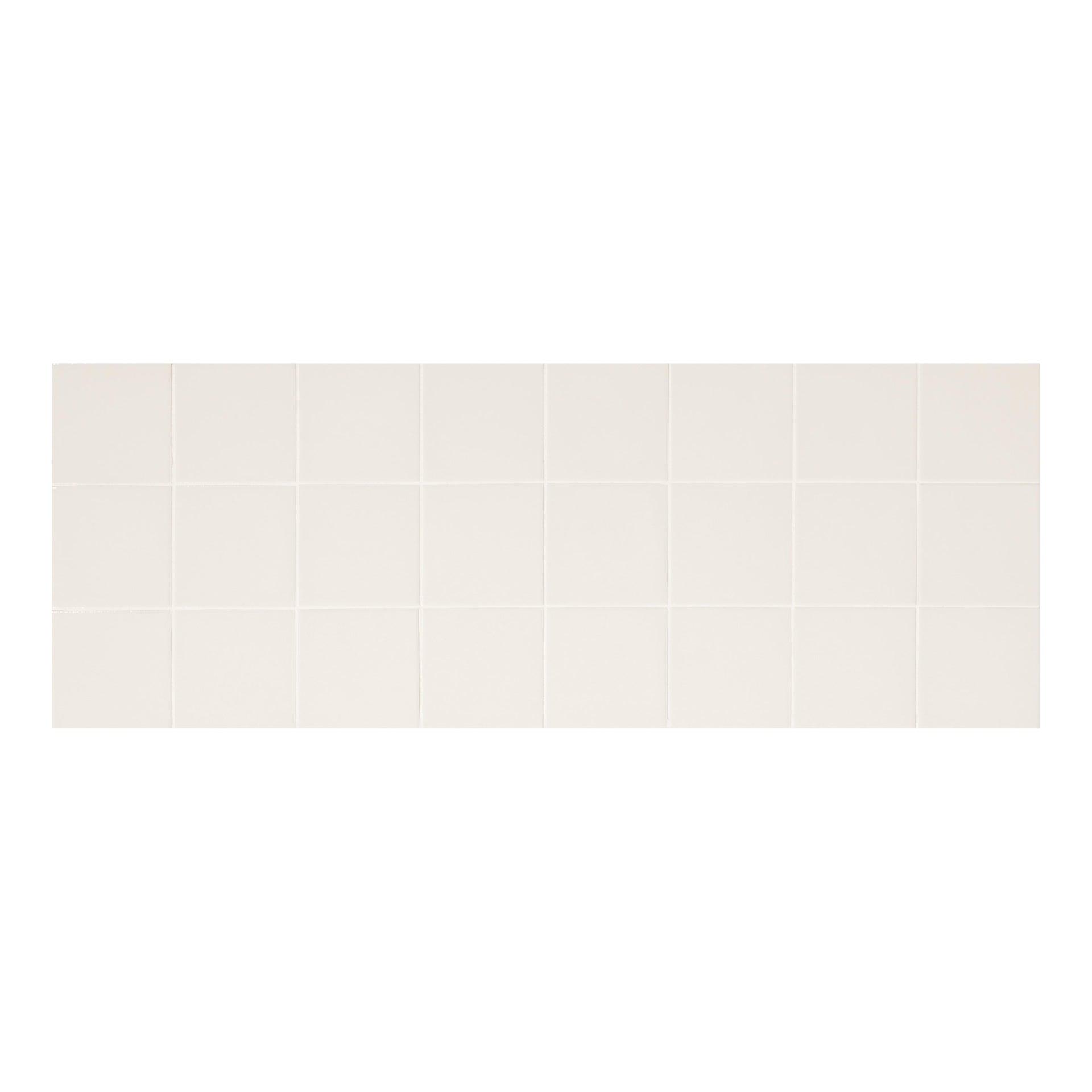 Piastrella per rivestimenti Shape 10 x 10 cm sp. 8 mm bianco - 1