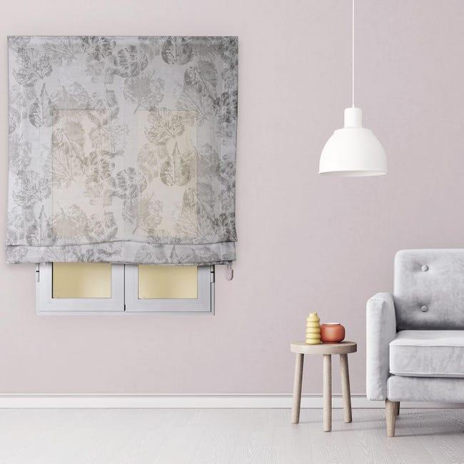 Tenda a pacchetto INSPIRE Fogliabella grigio / argento 40x175 cm - 1
