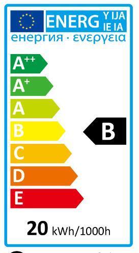 Set di 3 lampadine Alogena, G4, Capsula, Trasparente, Luce calda, 18W=345LM (equiv 35 W), 5° , LEXMAN - 5