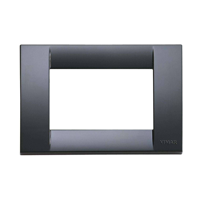 Placca Idea VIMAR 3 moduli grigio grafite